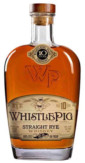 Whistle Pig 10yo Rye 100-100 70cl