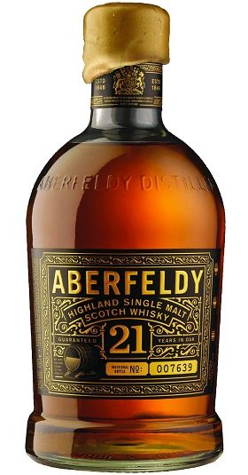 ABERFELDY 21YO and GP Brands