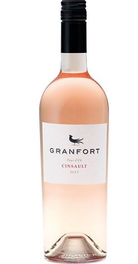 Granfort Rose de Cinsault Pays DOC and GP Brands