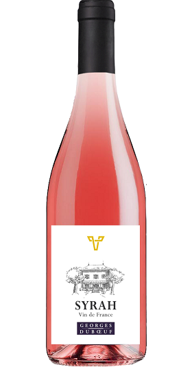 Syrah Rosé Vin de France Duboeuf and GP Brands