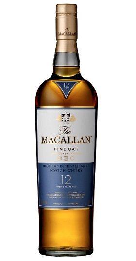 Macallan 12yo Fine Oak 70cl and GP Brands