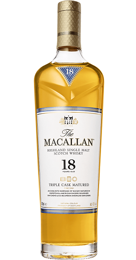 Macallan 18yo Triple Cask and GP Brands
