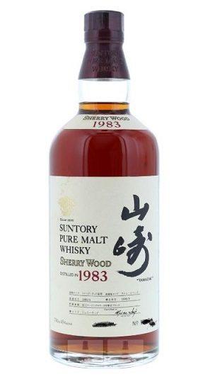 Suntory Yamazaki Sherry Wood Pure Malt 1983 and GP Brands