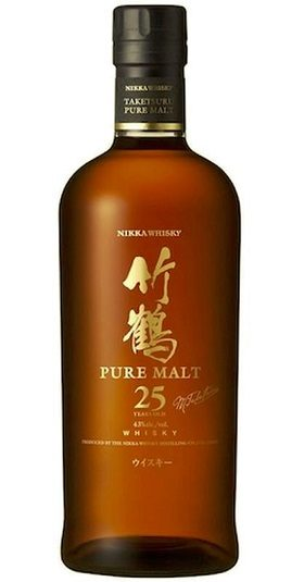 Nikka Taketsuru 25 Year Pure Malt and GP Brands
