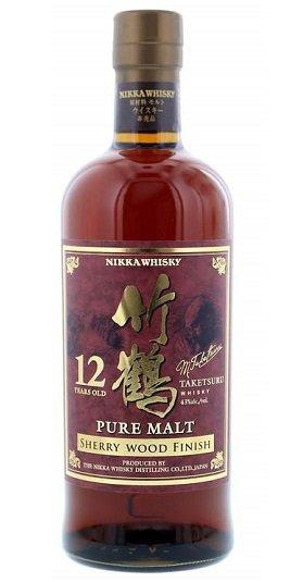 Nikka Taketsuru Pure Malt Sherry Wood and GP Brands