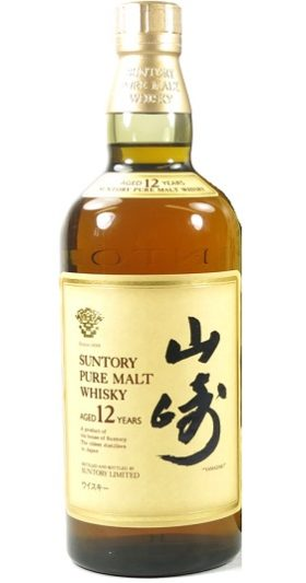 Yamazaki 12YO Pure Malt and GP Brands