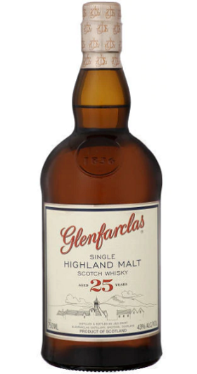 Glenfarclas 25 Year Old and GP Brands
