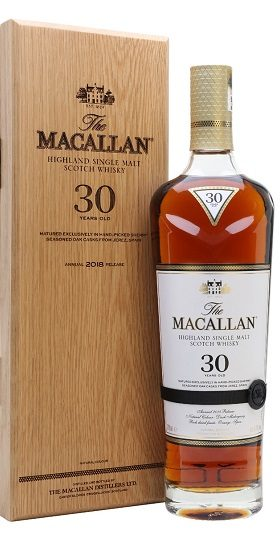 Macallan 30 Year Old Sherry Oak 2018 Release and Gp Brands