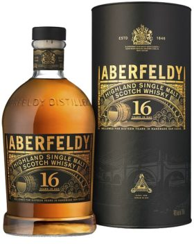 ABERFELDY 16YO Gift Pack and GP Brands