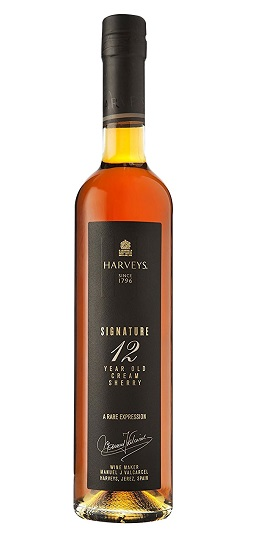Harveys Harvey's Signature Sherry 12 Year Old and GP brands