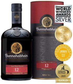 Bunnahabhain 12 Year Old and GP Brands