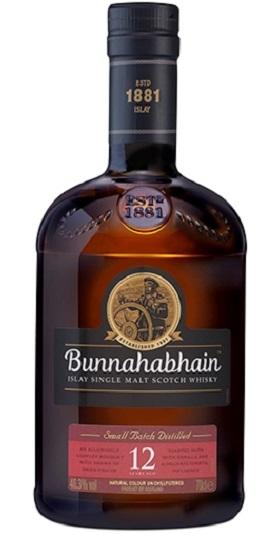 Bunnahabhain 12 years and GP Brands