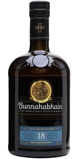 Bunnahabhain 18 years and GP Brands