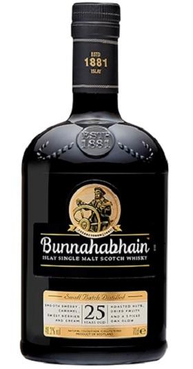 Bunnahabhain 25years and GP Brands