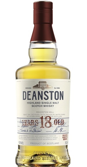 Deanston 18 years old and GP Brands