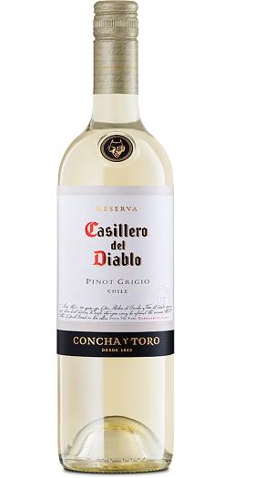 Casillero del Diablo pinot-grigio and GP Brands