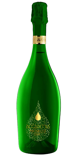 Accademia rainbow Bottega and GP Brands Green bottle