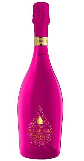 Accademia rainbow Bottega and GP Brands Pink Bottle