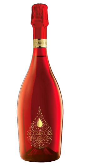 Accademia rainbow Bottega and GP Brands Red bottle