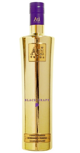 Au Vodka Black Grape Flavour 70cl and GP Brands
