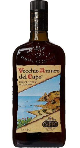 Vecchio Amaro del Capo Bottle and GP Brands