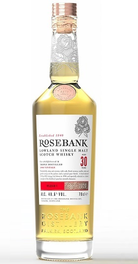 Rosebank 30 years old Bottle and GP Brands