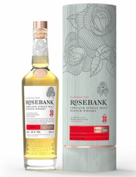 Rosebank 30 years old Gift Pack and GP Brands