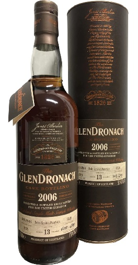 The GlenDronach 13YO 2006 Cask #5538 UK Excl and GP Brands