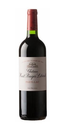 Lucien Lurton Pauillac Château Haut-Bages Libéral –5Ème Cru Classé 2014 and GP brands