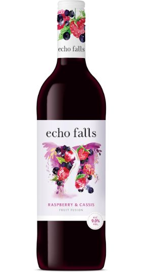 Echo Falls Fruit Fusion Raspberry & Cassis and GP Brands