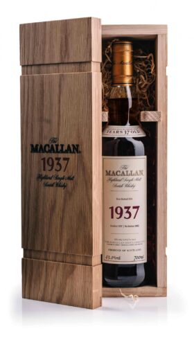 Macallan 1937 Fine and Rare with Box and GP Brands
