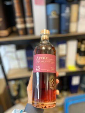 Arran_25YO and GP Brands Bottle