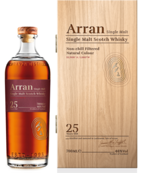 Arran_25YO and GP Brands UK