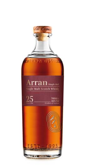 Arran_25YO and GP Brands