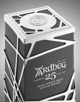 Ardbeg 25 YO BOX AND GP BRANDS