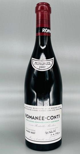 Domaine de la Romanee-Conti Grand Cru 2007 and GP Brands