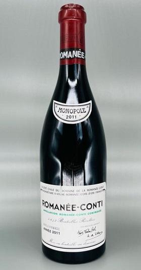 Domaine de la Romanee-Conti Grand Cru 2011 and GP Brands