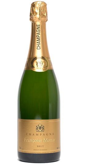 Francoise Monay Brut Champagne and GP Brands