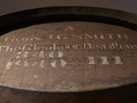 Gordon & MacPhail Generations 80-Years-Old from Glenlivet Distillery 70cl and GP Brands UK Cask Top