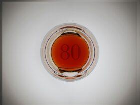 Gordon & MacPhail Generations 80-Years-Old from Glenlivet Distillery 70cl and GP Brands UK Whisky Bottle